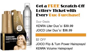August Specials: Get a FREE Scratch-Off Lottery Ticket with Every Duo Purchase!