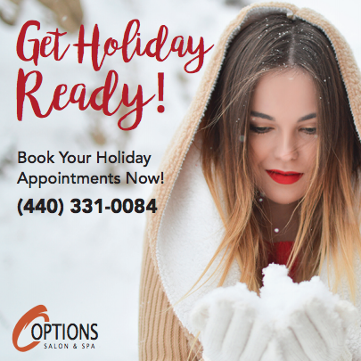 Book Appointments for the Holiday