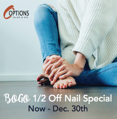 BOGO 1/2 off nail special