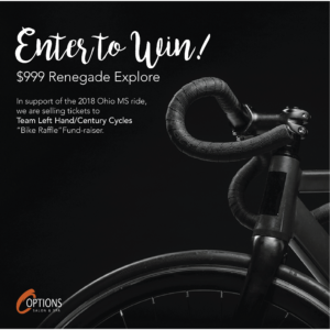 Bike MS Raffle - Enter to Win
