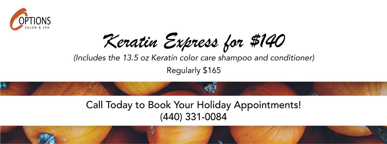 Keratin Express for $140
