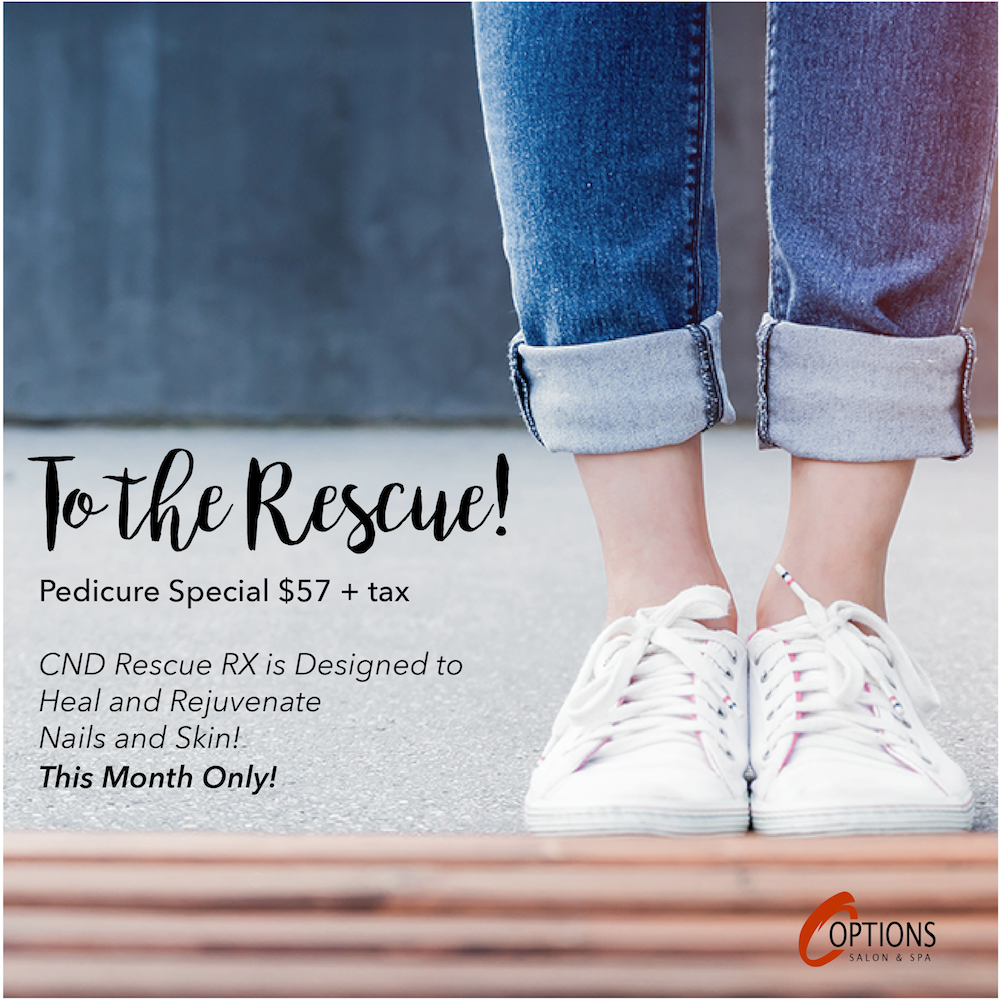To the Rescue Pedicure Special
