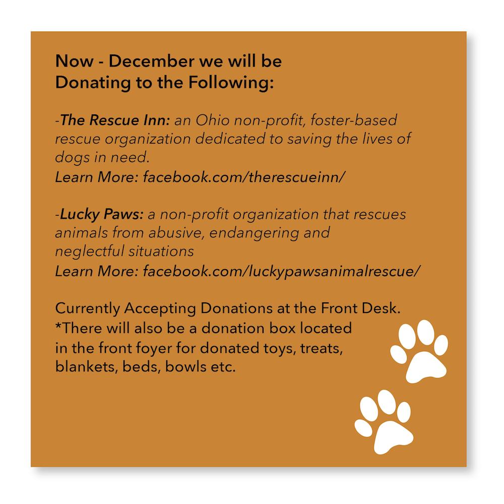 November Donations
