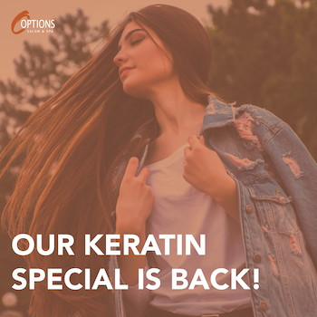 Keratin special is back