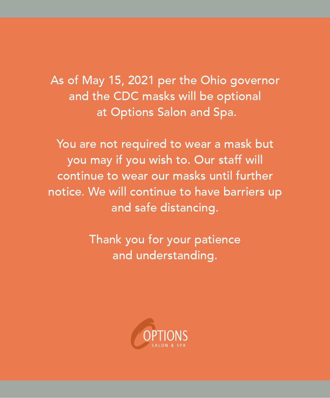 Covid Mask Update